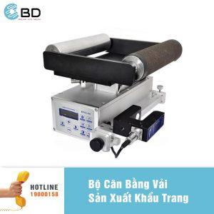Bộ cân bằng vải máy sản xuất khẩu trang.